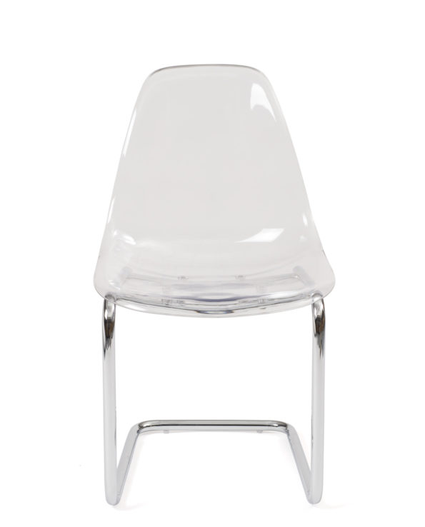 chaise-salle-manger-cuisine-transparent-chrome-design-lot-2-meo