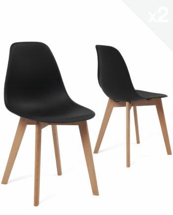 chaise-scandinave-pas-cher-lot-2-nao-kayelles-noir