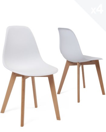chaise-scandinave-pas-cher-lot-4-nao-kayelles-blanc