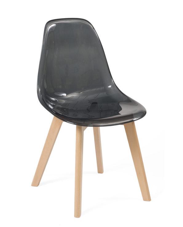 chaise-scandinave-transparente-cuisine-noir-kayelles