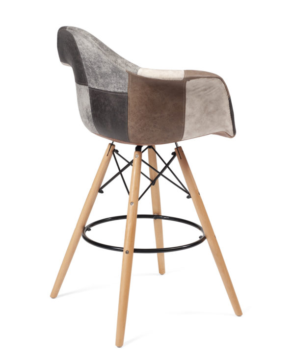 chaise-tabouret-bar-patchwork-scandinave-marron-restaurant-cuisine-tiba