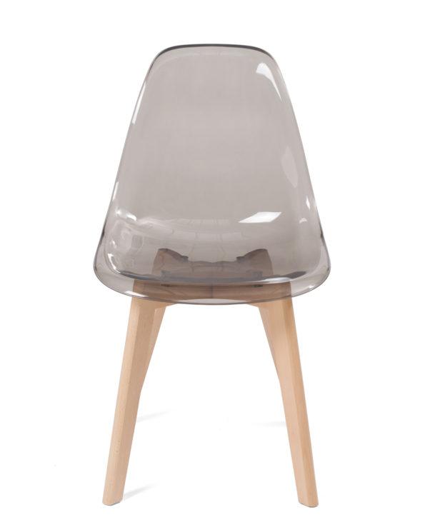 chaise-transparente-style-scandinave-gris-fumé-kayelles