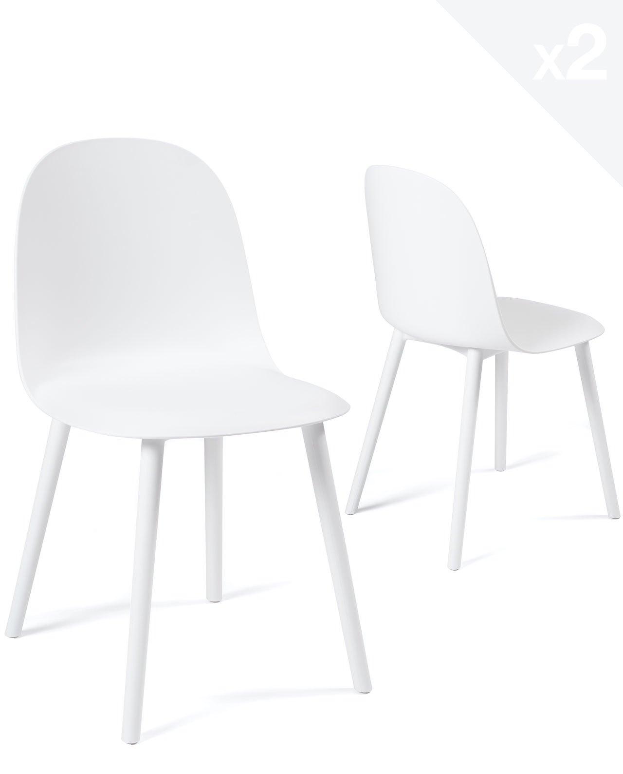 Chaise de cuisine intérieur extérieur UFI Lot de 2