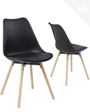 lot-4-chaises-scandinaves-pied-bois-coussin-cuisine-salle-manger-MIA-noir