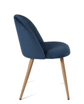 chaise-cocktail-velours-bleu-fonce-pas-cher-kayelles