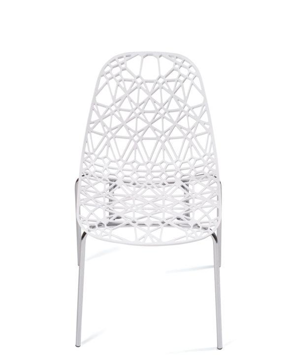 chaise-cuisine-design-lot-4-dentelle-pas-cher-IKO-blanc