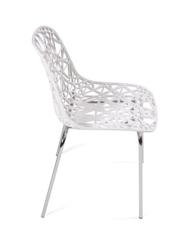 chaise-cuisine-pas-cher-lot-4-blanc