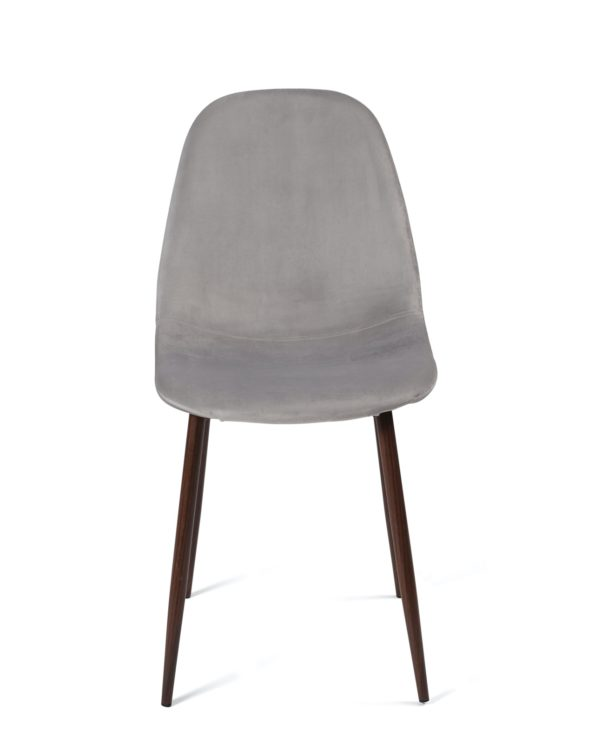 chaise-design-velours-scandinave-metal-gris-clair