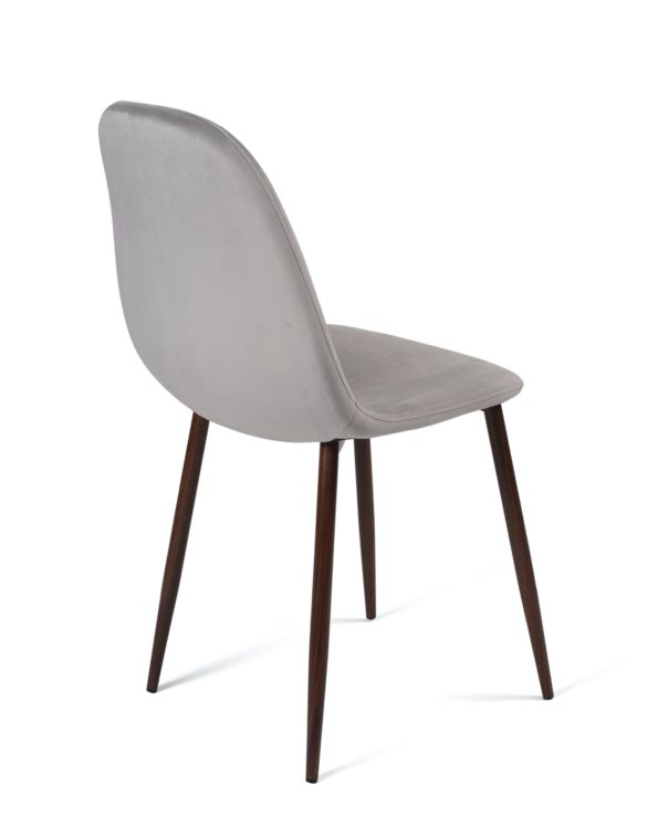 chaise-scandinave-velours-gris-clair-pas-cher-lot-2-kayelles
