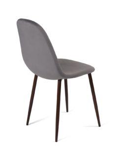 chaise-scandinave-velours-gris-fonce-pas-cher-lot-2-kayelles