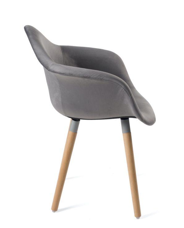 fauteuil-design-pas-cher-velours-gris-lot-2-kayelles