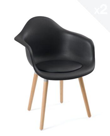 fauteuil-design-scandinave-coussin-noir-lot-2-sinai