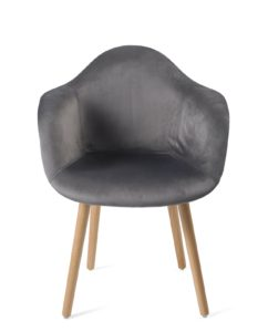 fauteuil-design-scandinave-velours-gris-lot-2-kayelles