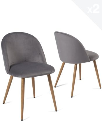 lot-2-chaises-cocktail-velours-gris-fonce-scandinave-vintage
