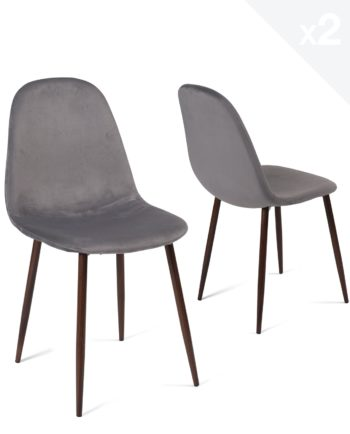 lot-2-chaises-design-scandinave-velours-metal-gris-fonce