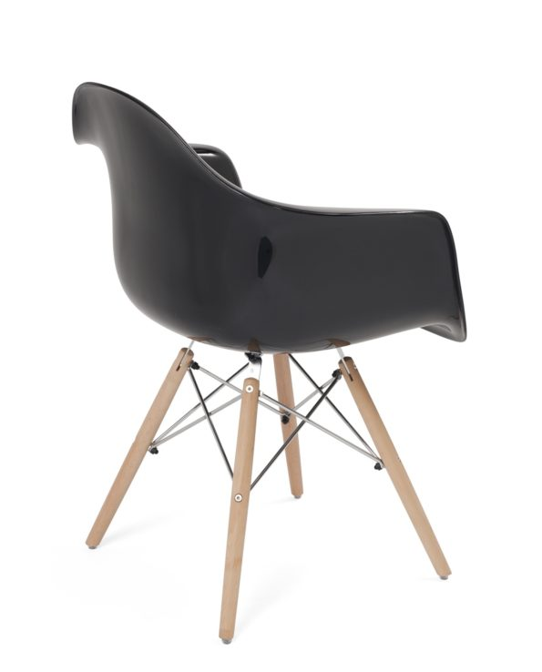 lot-2-fauteuils-scandinave-eames-noir-brillant