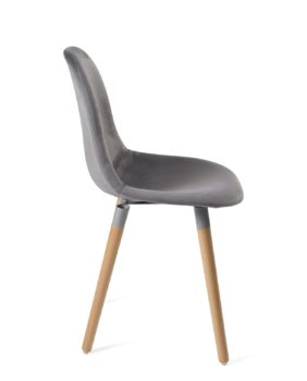 lot-4-chaises-design-scandinaves-bois-velours-gris