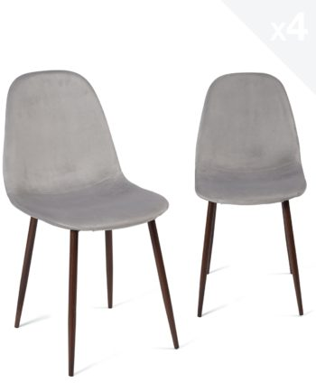 lot-4-chaises-design-velours-scandinave-metal-gris-clair
