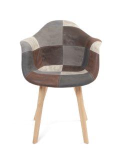 chaise-accoudoir-patchwork-scandinvave-gris-bleu-kayelles