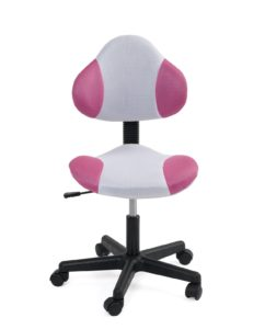 chaise-bureau-junior-roulette-design-blanc-rose-tik
