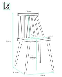 chaise-cuisine-barreaux-pas-cher-kayelles