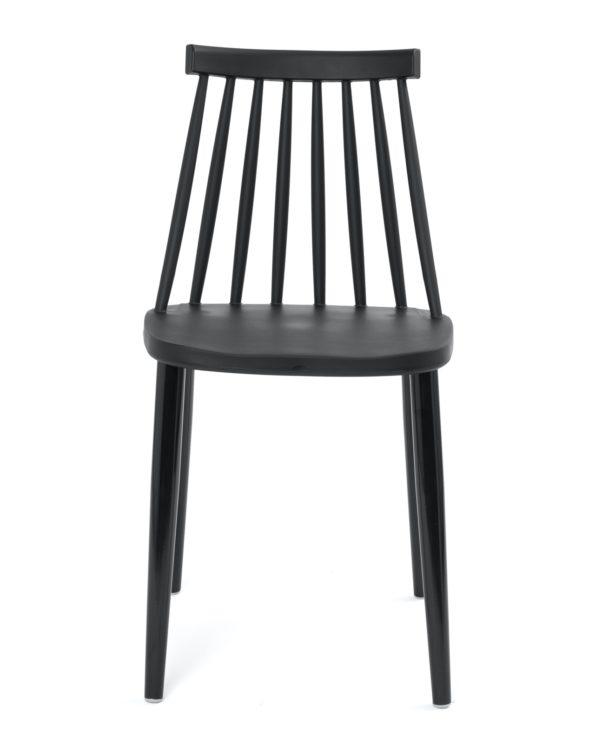 chaise-cuisine-design-barreaux-vintage-noir-kayelles