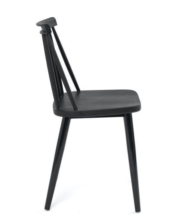 chaise-cuisine-pas-cher-lot-2--barreaux-vintage-noir-kayelles