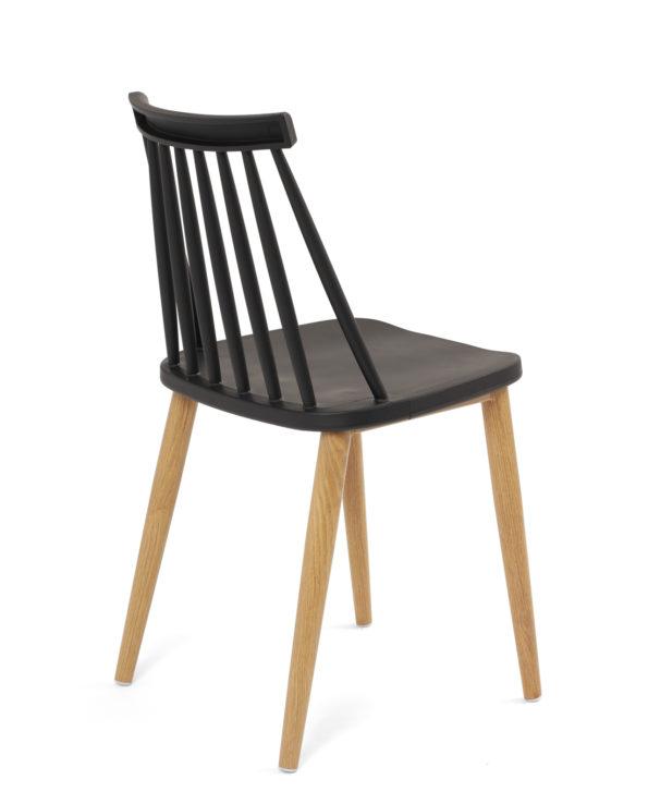 chaise-cuisine-pas-cher-lot-2-vintage-noir-imitation-bois-kayelles