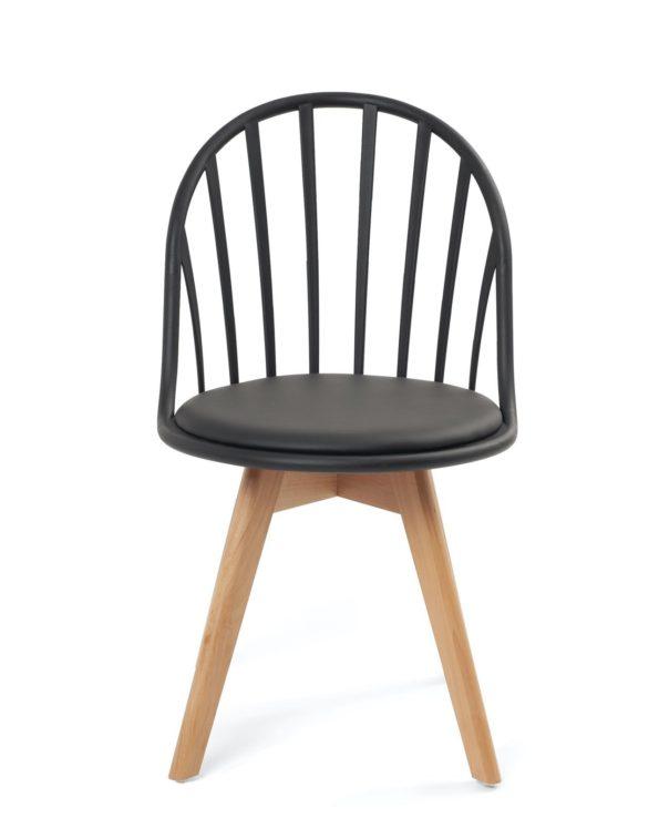 chaise-design-scandinave-coussin-noir-kayelles