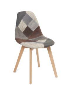 chaise-patchwork-scandinave-gris-bleu-similicuir-nada