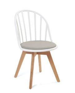 chaise-scandinave-barreaux-coussin-blanc-gris-kayelles