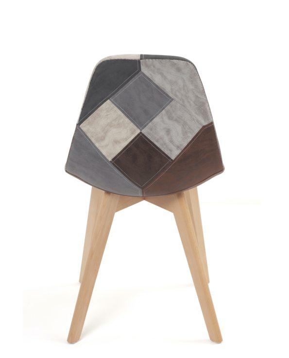 chaises-scandinaves-patchwork-kayelles-gris-bleu-similicuir-nada