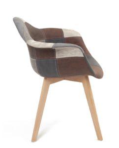 fauteuil-patchwork-scandinvave-gris-bleu-kayelles