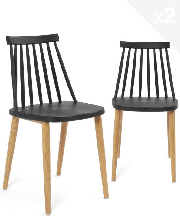 lot-2-chaises-cuisine-barreaux-design-noir-immitation-bois-kayelles