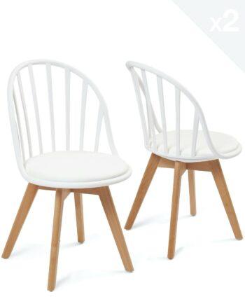 lot-2-chaises-scandinaves-barreaux-coussin-blanc-kayelles