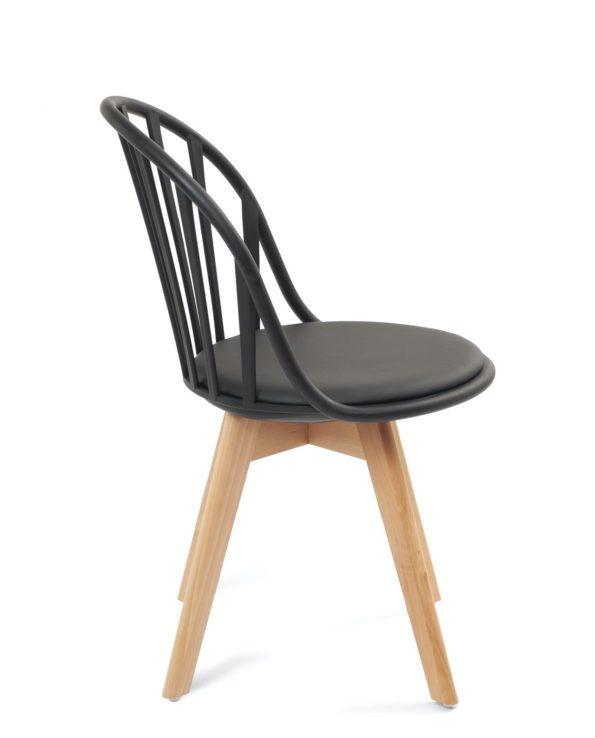 lot-chaise-design-pas-cher-style-scandinave-noir