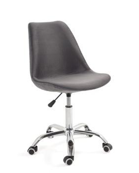 chaise-bureau-roulettes-ergonomique-reglable-leo-velours