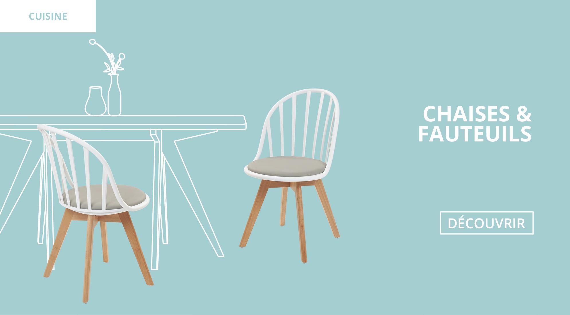 Cuisine : Chaises de cuisine Scandinace et Design Kayelles