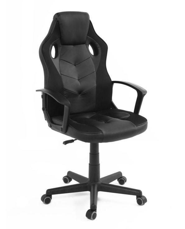 chaise-gamer-pas-cher-kayelles-noir