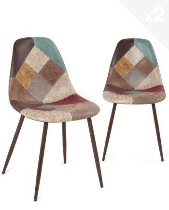 chaise-patchwork-marron-scandinave-cuisine-salle-manger-NOVA