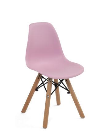 chaise-scandinave-enfant-chambre-fille-rose