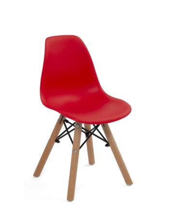 chaise-scandinave-enfant-chambre-rouge