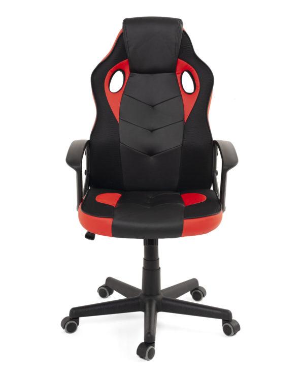 fauteuil-gamer-e-sport-racing-noir-rouge-sena