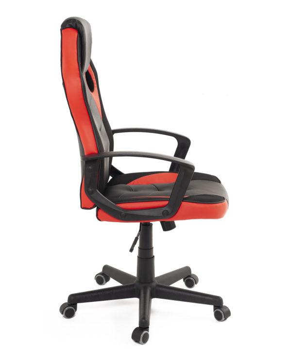 fauteuil-gamer-racing-e-sport-noir-rouge-pas-cher-sena