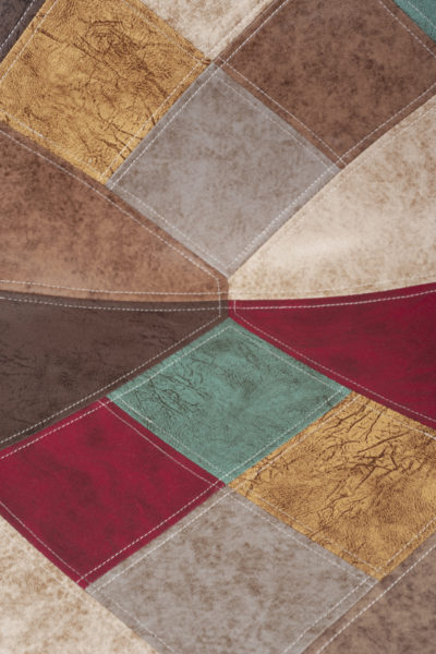 patchwork-similicuir-marron-chaise-salle-mager