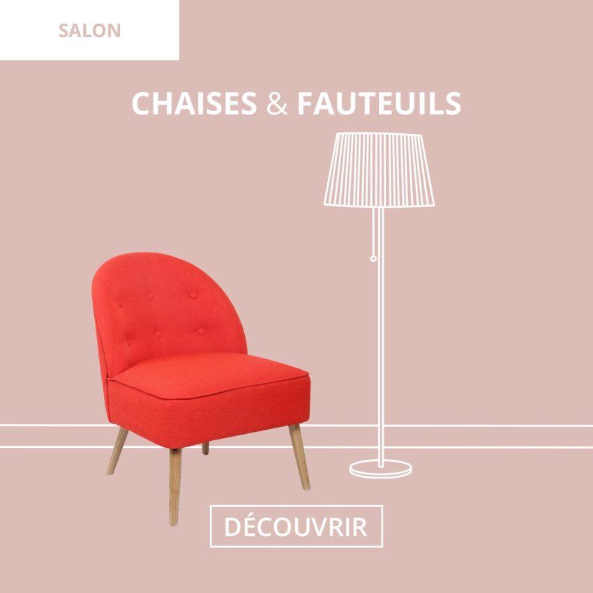 Salon : Petit Fauteuils Scandinaves Kayelles