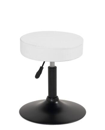 tabouret-stable-pivotant-360-reglable-hauteur-pas-cher-blanc