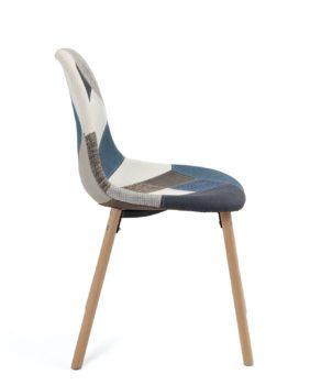 chaise-patchwork-bleu-cusine-deco-salon-kayelles-salle-manger