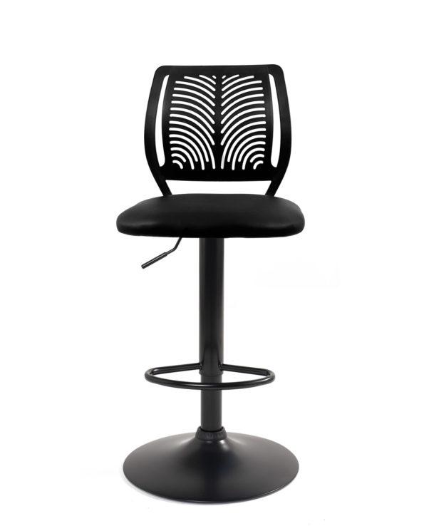 lot-2-chaises-bar-haut-dossier-reglable-design-sawa-noir
