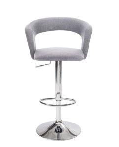 chaise-haute-Bar-cuisine-dossier-ergonomique-Lot-2-hauteur-reglable-tissu-accoudoirs-kayelles-gris